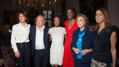 Agnese Renzi, Ermanno Scervino, Larissa Lapichino, Fiona May, Bona Frescobaldi e Rosaria Frescobaldi