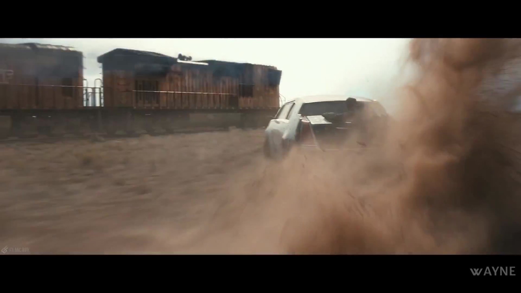 Limo Chase From Movie