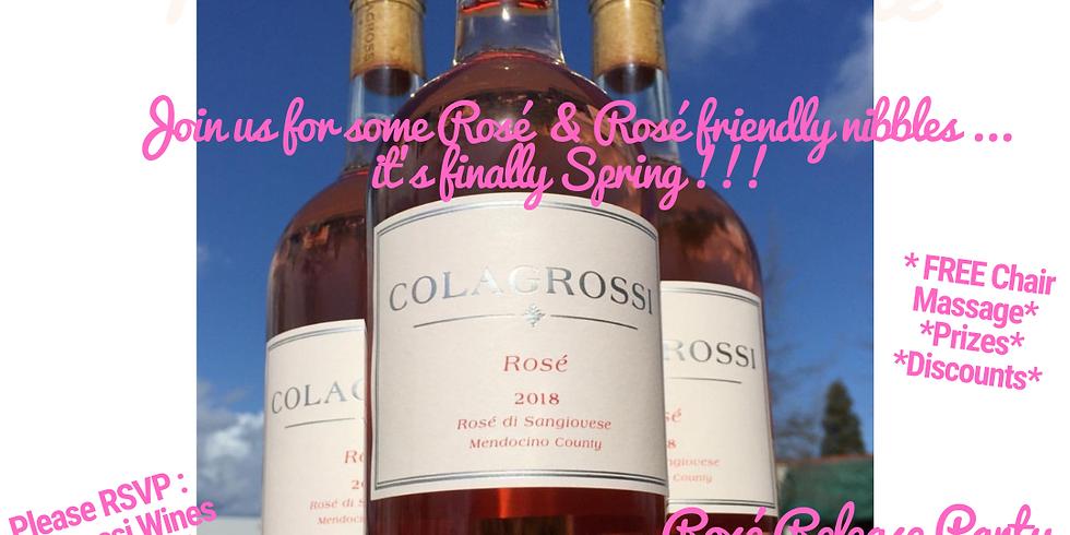 Spring into Rosé! Rosé Release Party!