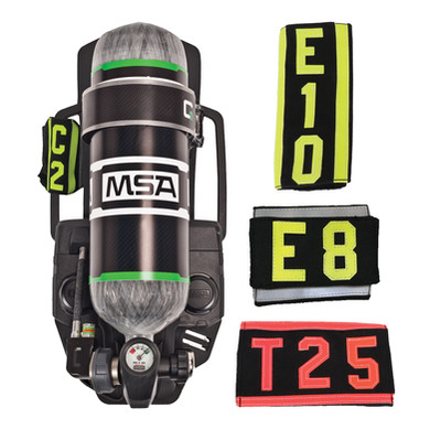 Firefighting Fabric Identity Labels for SCBA Backframes