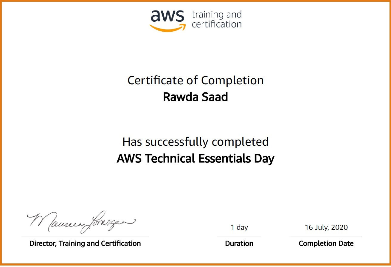 Amazon Web Services @Rawda_Saad @روضة_سعد
