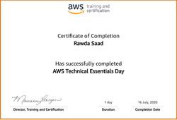Amazon Web Services @Rawda_Saad @روضة_سعد