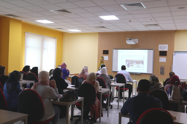 ورشة توعوية لأكاديميي اللغة العربية