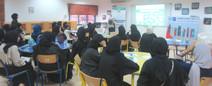 @روضة_سعد - تقديم ورشة عمل عن القراءة والابتكار لفريق القراءة