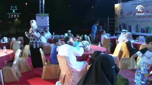 @روضة_سعد - نادي المدام- مهرجان القراءة العائلي
