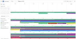 Календарь событий интернет-проекта