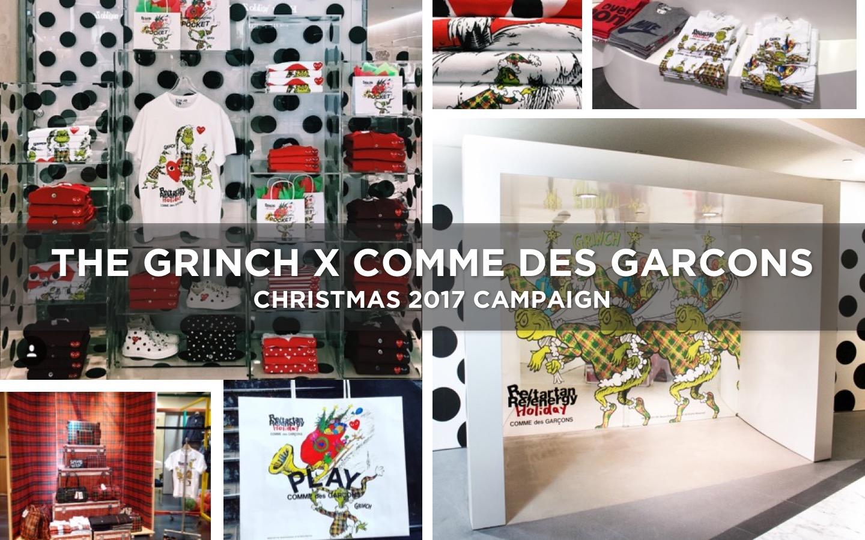 GRINCH X COMME DES GARCONS