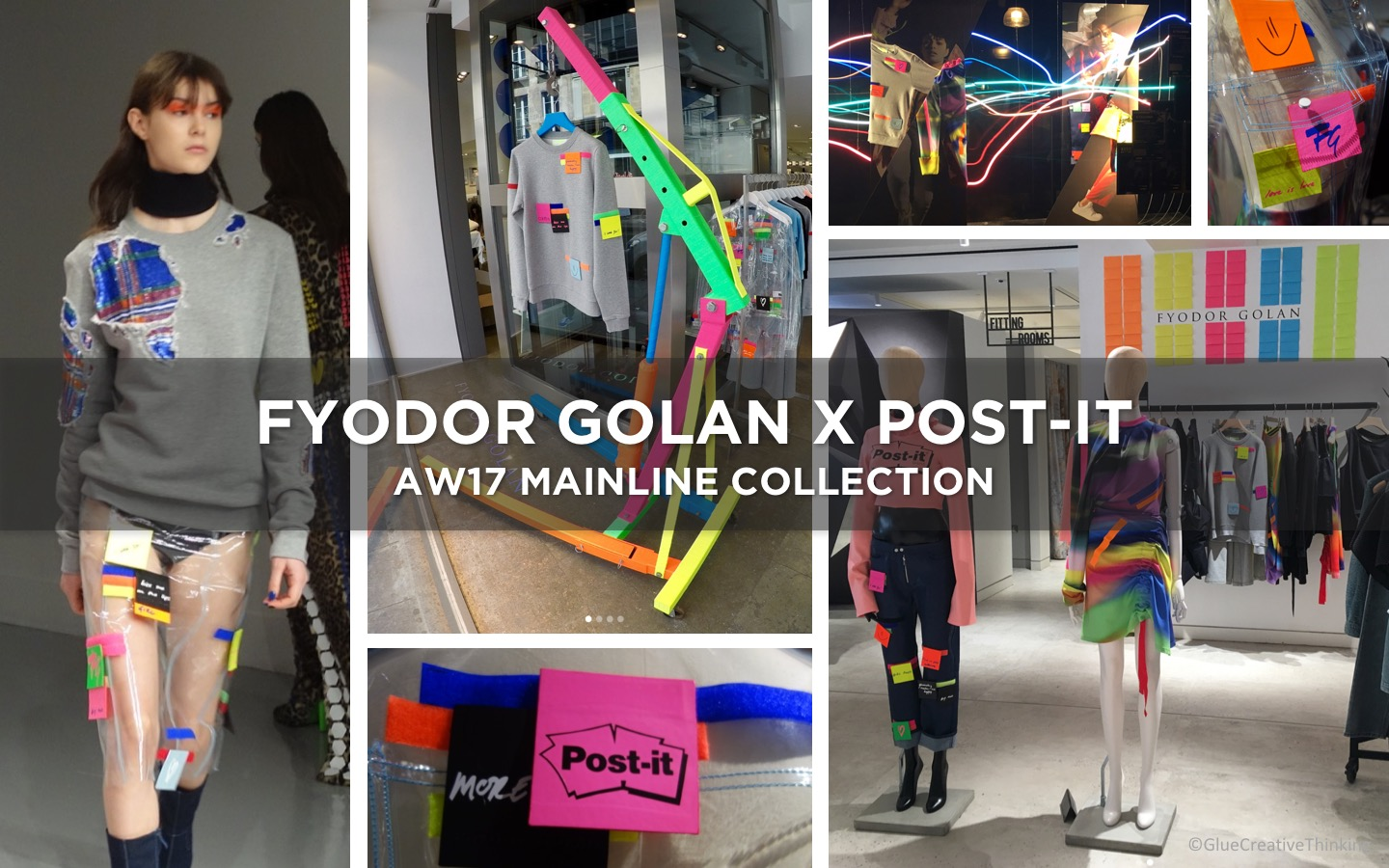 FYODOR GOLAN X POST-IT