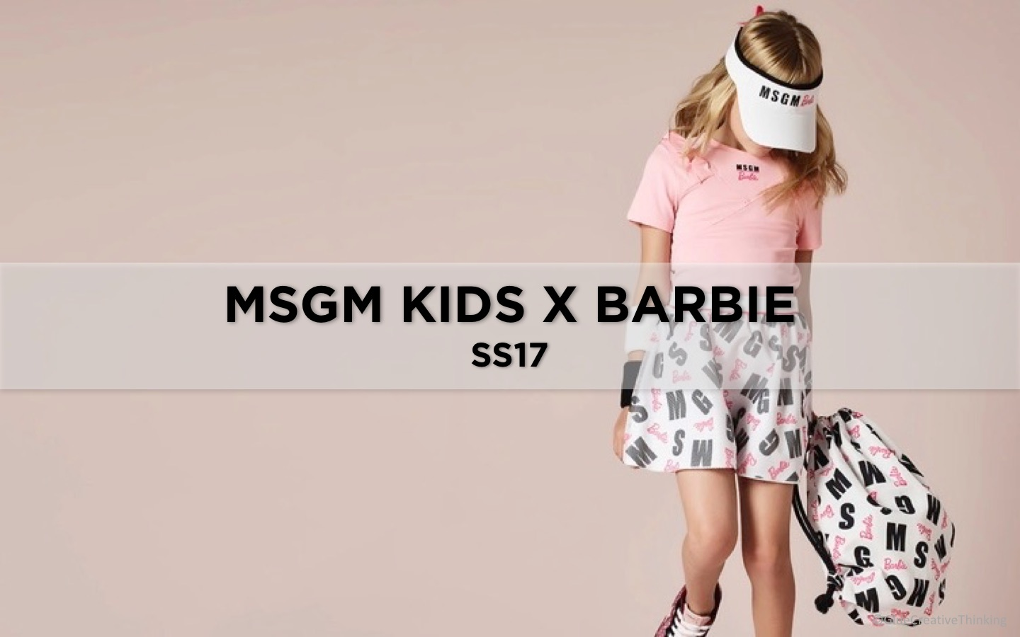 MSGM KIDS X BARBIE