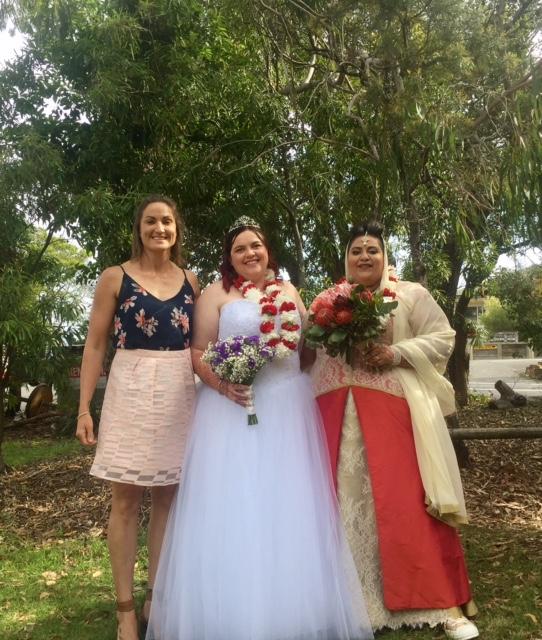 female celebrant