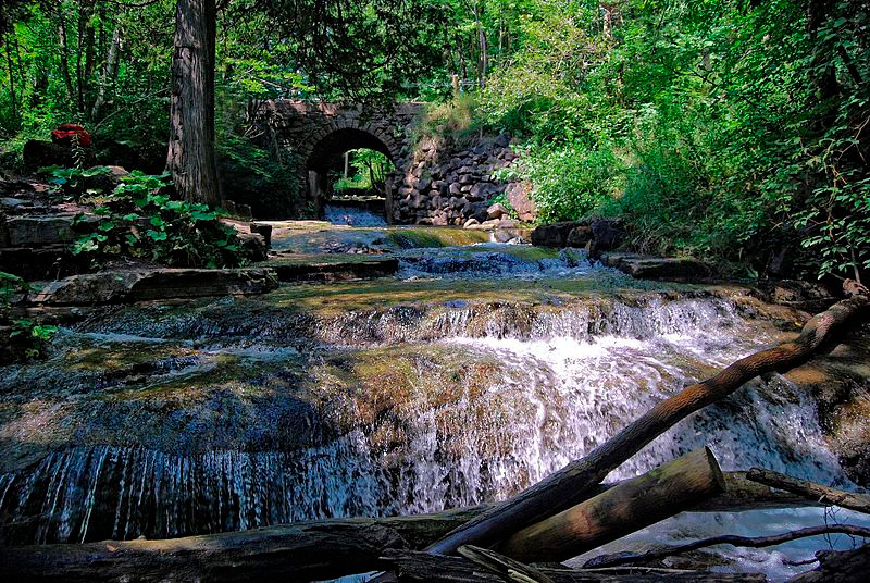 Silver Creek Conservation Area, waterfall, hike
