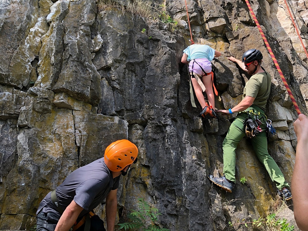 Private guides, rock climbing, Ontario, Rattlesnake Point