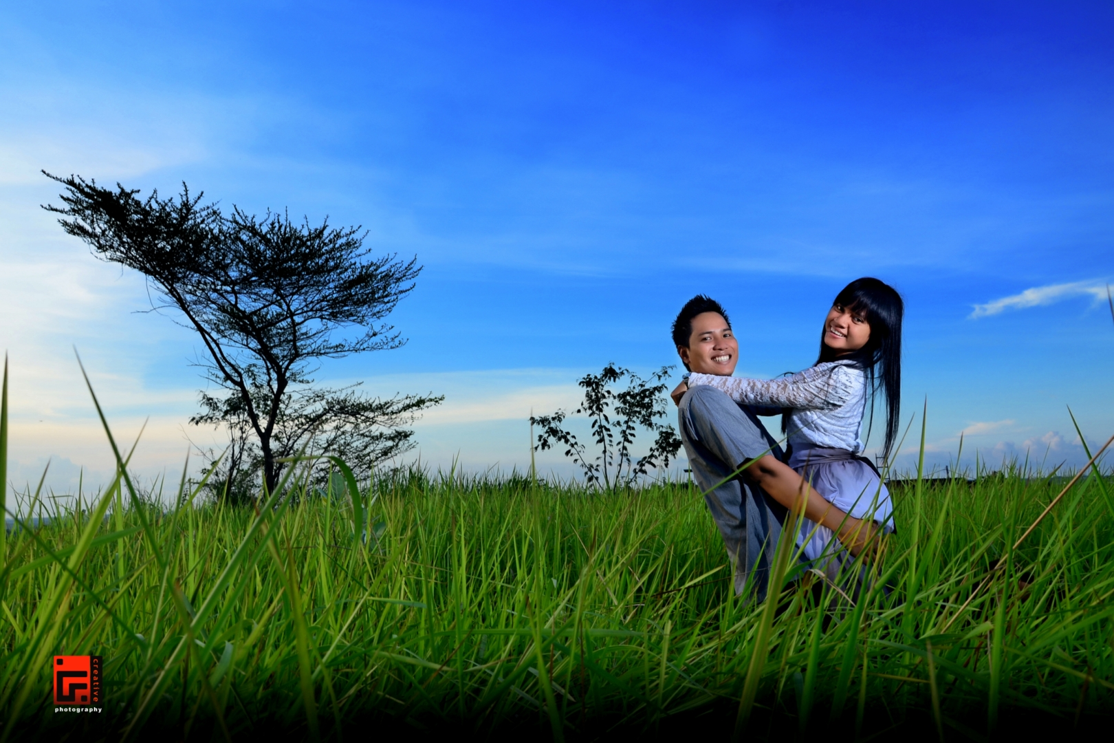 Prewedding Outdoor senja #13