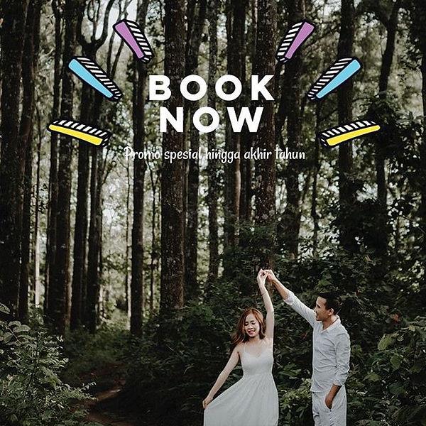 PROMO foto prewedding dan pernikahan akhir tahun 2019