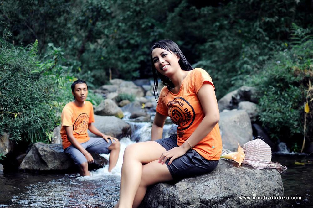 foto prewedding sungai delundung, trawas #02