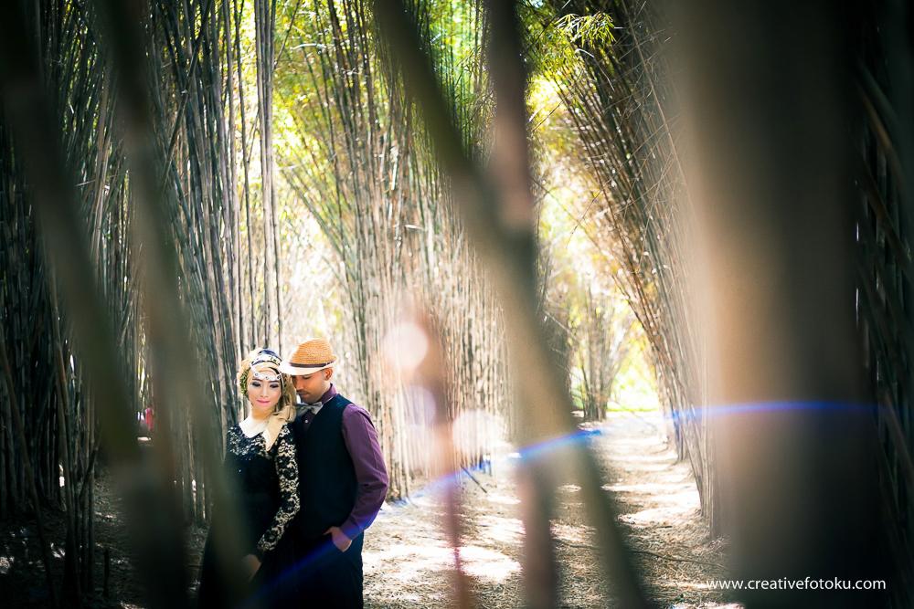 Prewedding Hutan Bambu