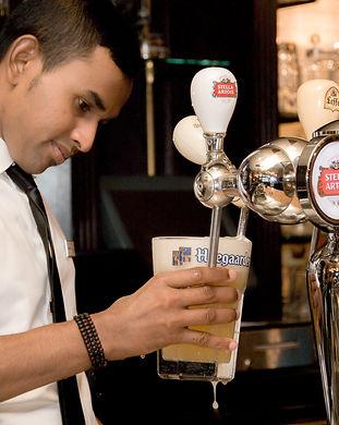 Belgian Beer Cafe Draft drinks