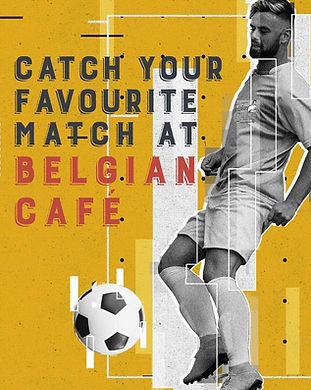 Matches at Belgian Cafe.JPG