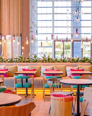 ZESTE CAFE HOLIDAY INN DUBAI FESTIVAL CI