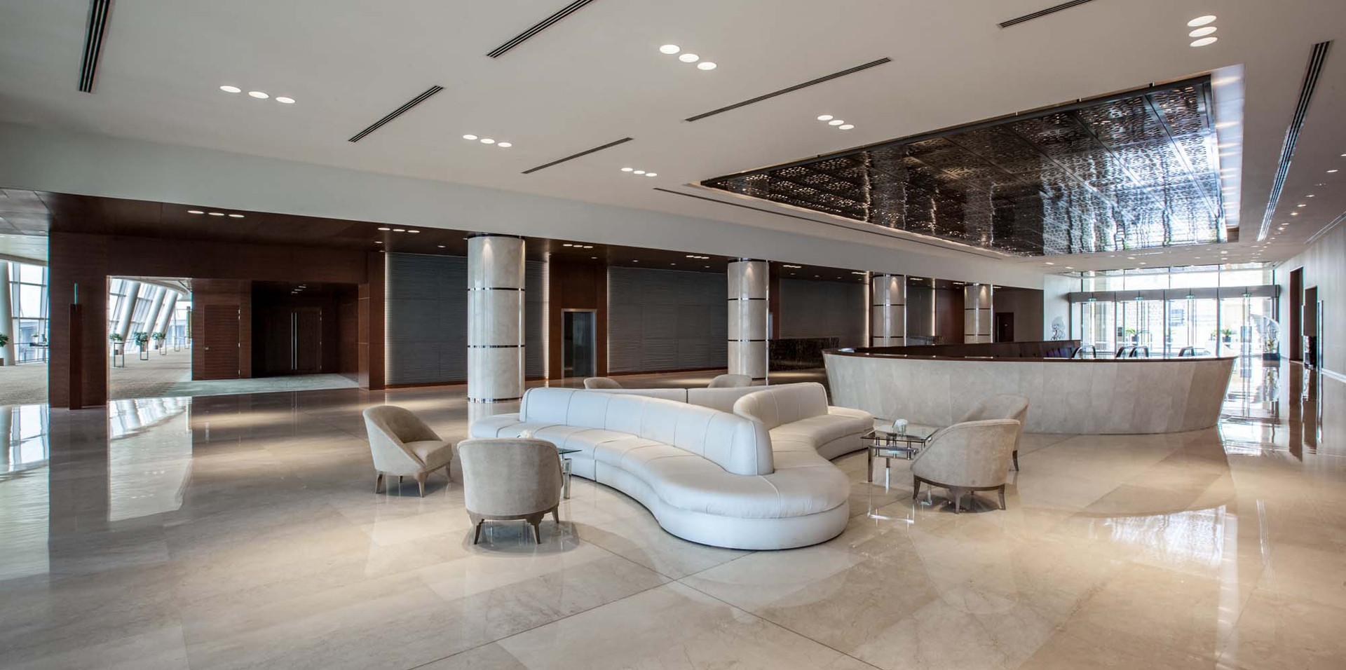 Lobby Area | The Event Centre