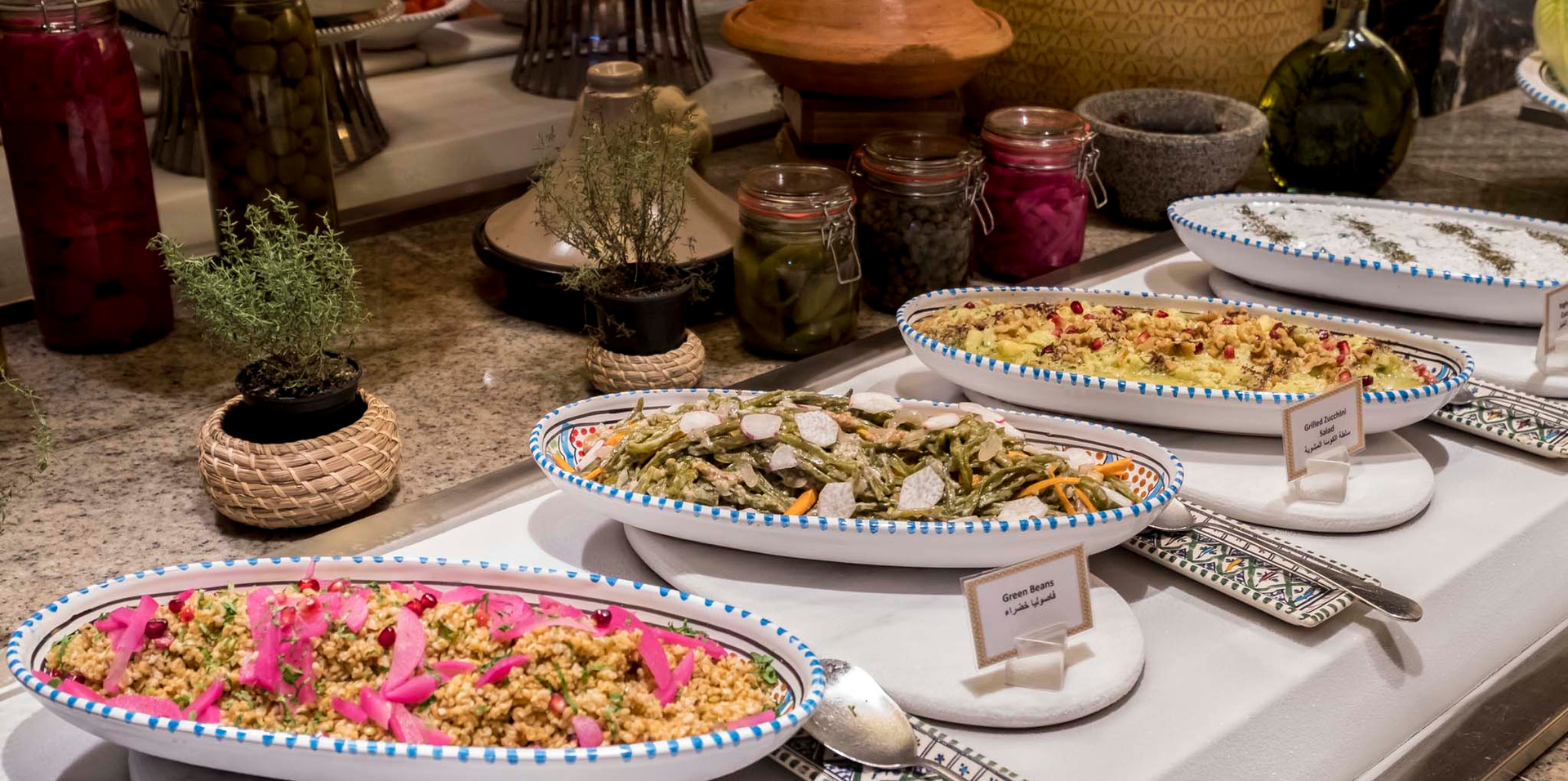 Authentic Arabian Barbecue | Grilled meats and Seafood | Crowne Plaza Dubai Festival City