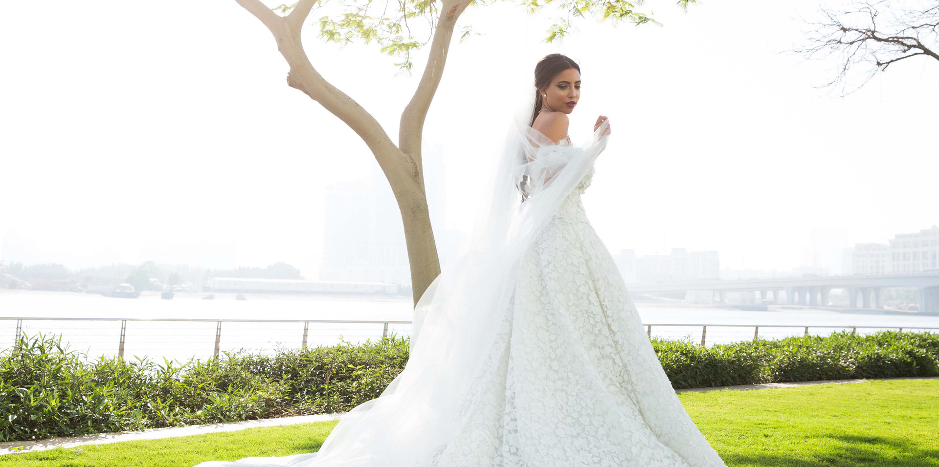 Wedding shoot at the Promenade Bay