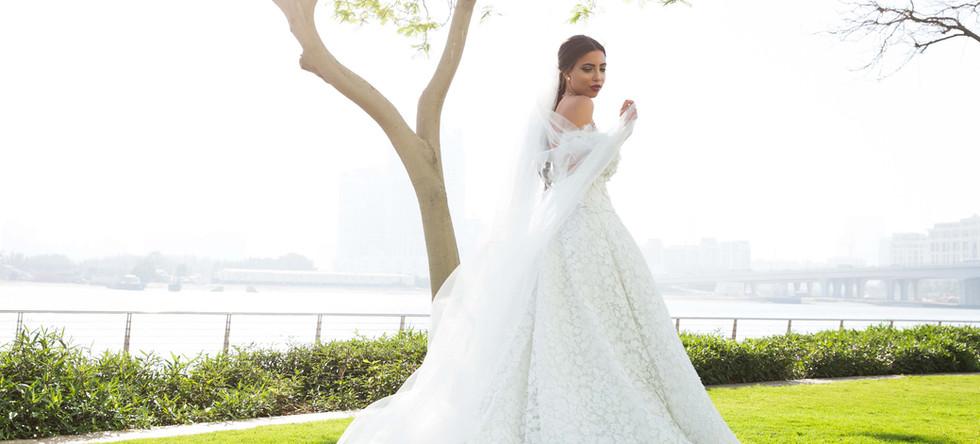 Wedding shoot at the Promenade Bay