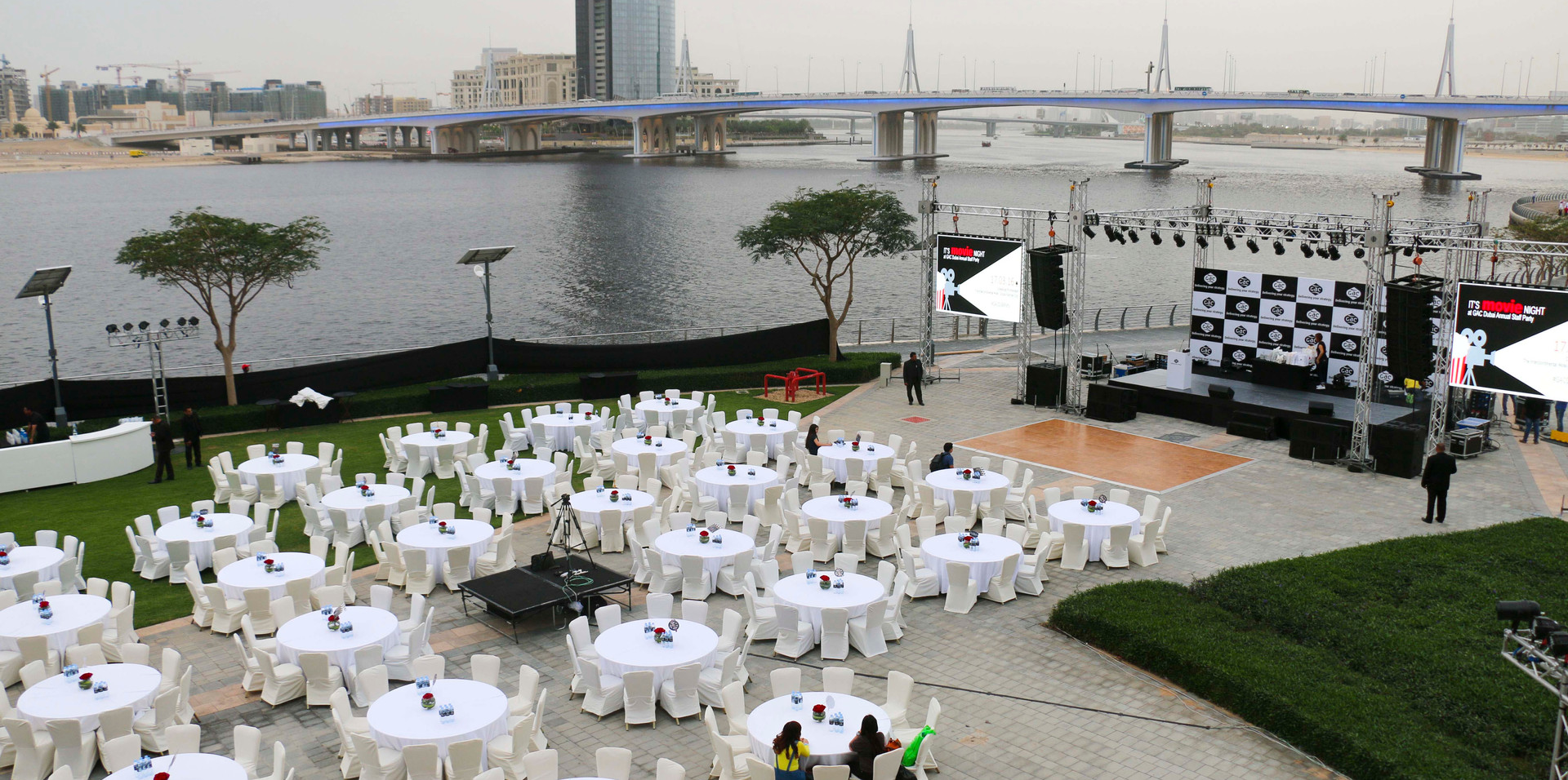 Waterfront promenade Al Baraha Ballroom | The Event Centre