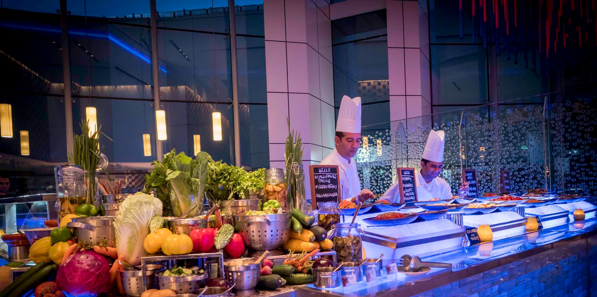 Anise Restaurant at InterContinental Dubai Festival City