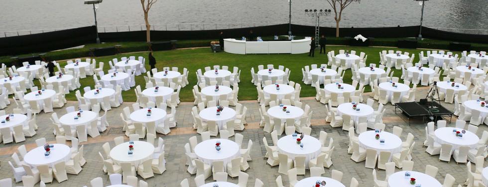 Waterfront promenade Al Baraha Ballroom | The Event Centre