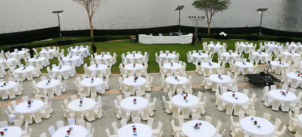 Waterfront promenade Al Baraha Ballroom   The Event Centre