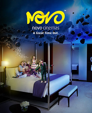 Novo Cinema staycation IHG
