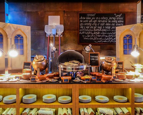 Iftar at Anise InterContinental Dubai Fe