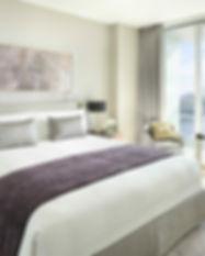One bedroom deluxe suite creek view bedr