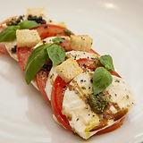 capressi salad MezzaLuna Italian restaur