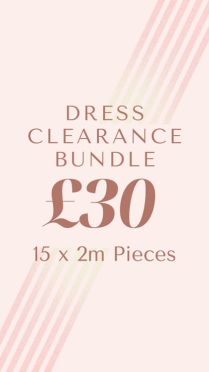 Dress Clearance Bundle