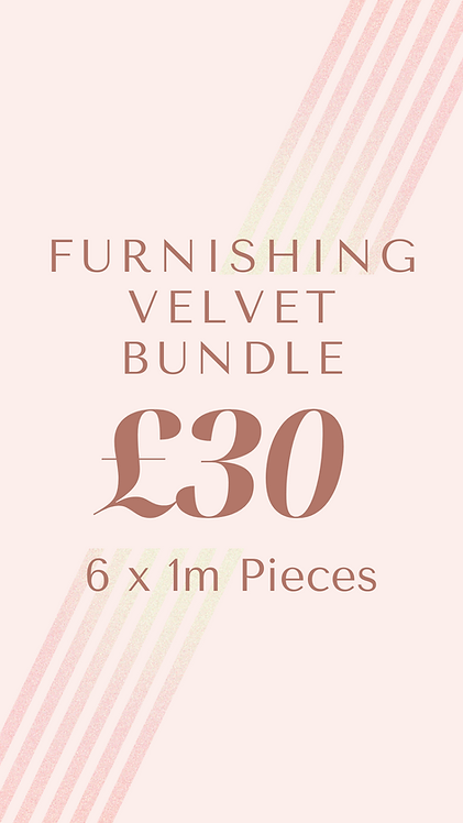 Furnishing Velvet Bundle