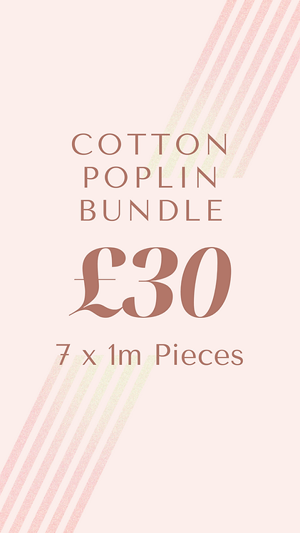 Cotton Poplin Bundle
