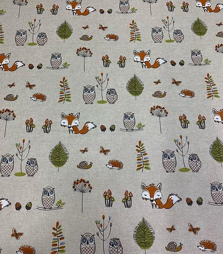 Cotton Woodland Fox