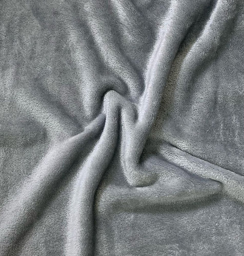Grey snuggle fleece