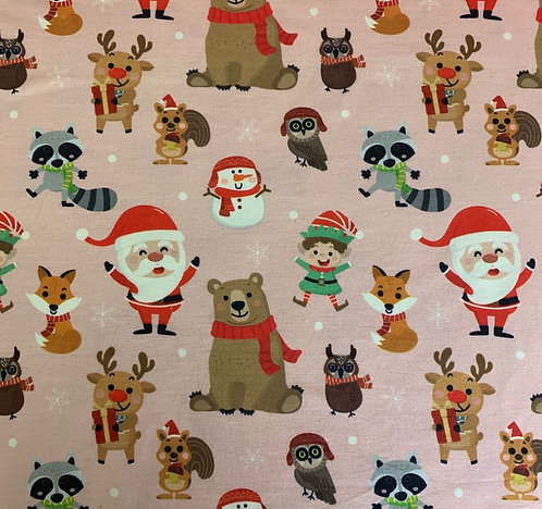 Polyelastane Jersey Christmas