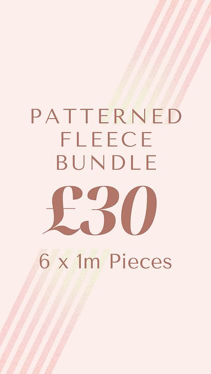 Patterned Fleece Bundle
