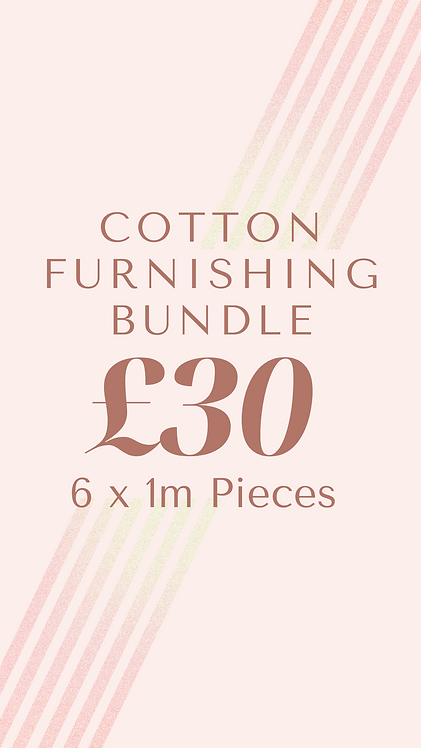 Cotton Furnishing Bundle