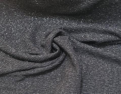 Crinkle Jersey Glitter