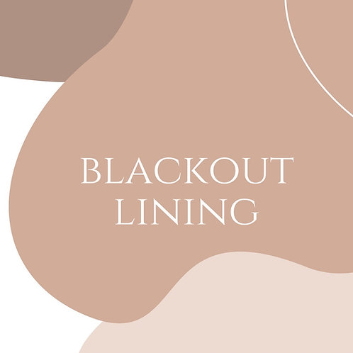 Blackout Lining