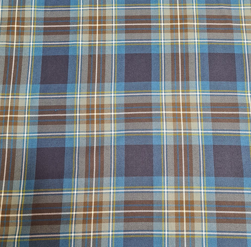 Polycotton Check Suiting