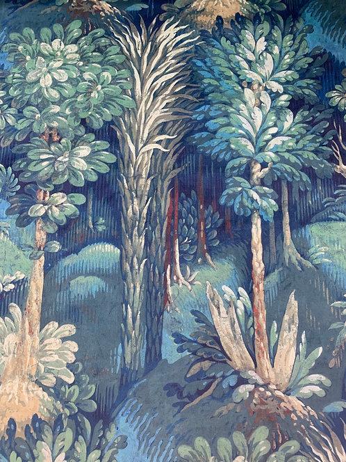 Digitally Printed Velvet Trees