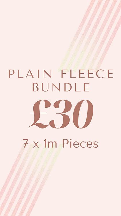 Plain Fleece Bundle