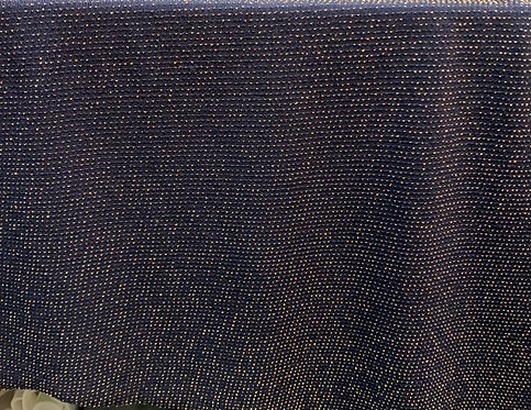 Blue/Gold Glitter Jersey