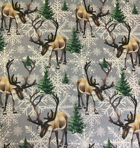 Polyelastane Terry back Jersey Christmas